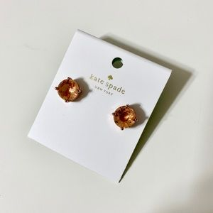 New! Rose Gold Kate Spade Earrings